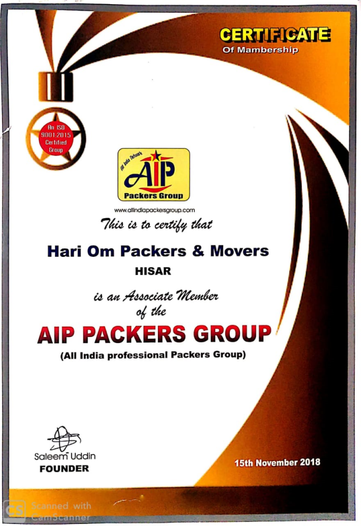 HARI OM PACKERS AND MOVERS